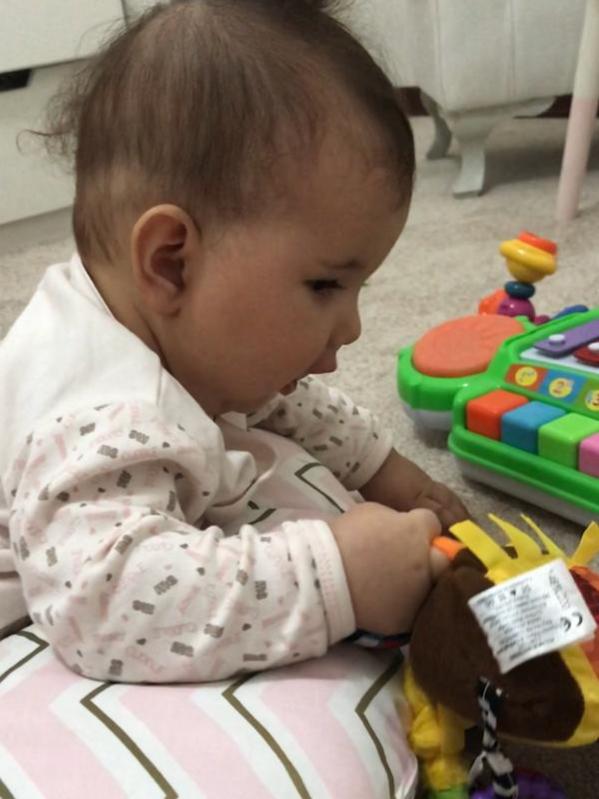 مهارت کودکان در شش ماهگی